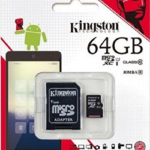 Thẻ nhớ  kington 64GB MicroSDHC Class 10 Hàng chính hãng- Tem Vĩnh Xuân
